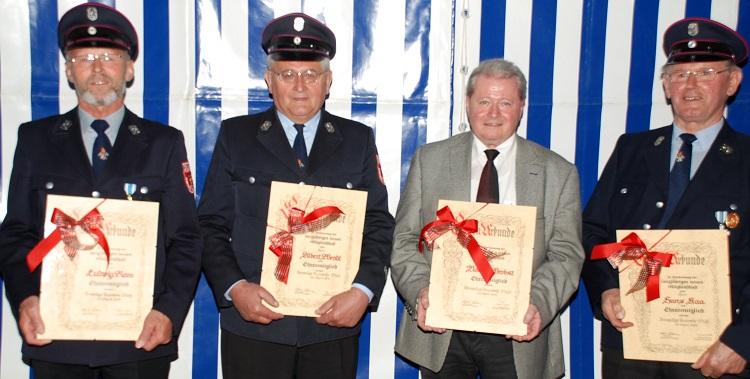 Neue Ehrenmitglieder 2014